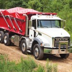 Mack Granite twin-steer